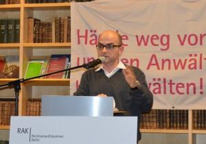 Jon Andoni Lekue zur Lage der baskischen AnwältInnen in Spanien