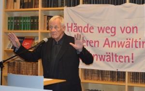 Rolf Becker - Lesung zum 75. Todestag von Hans Litten